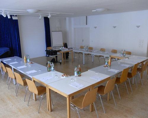 Movimento München Raum 1 ist ca. 96 m² groß und geeignet für Seminare, Workshops, Vorträge, Podiumsdiskussionen