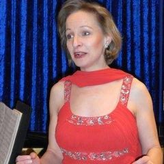 Die Sängerin Christa Schneider