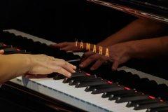 Movimento München - Impression Tastatur des Konzertflügels