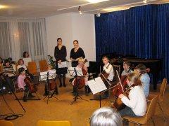 Movimento München Konzertraum Cellokinder im Konzert