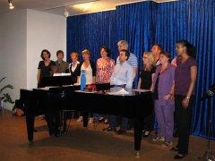 Movimento München Konzertraum Gospelchor