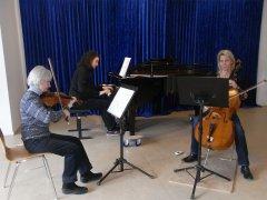 Movimento München Konzertraum Probe Klaviertrio