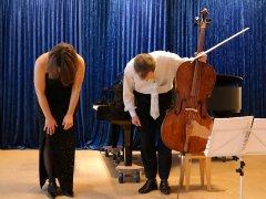 Movimento München Konzertraum Verbeugung der Künstler
