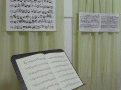 Movimento München Unterrichtsraum Autograph von J. S. Bach wirkt insprierend