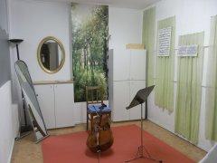Movimento München Unterrichtsraum Violoncello
