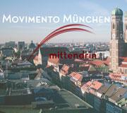 Movimento München - Seminarräume und Musikerräume im Zentrum