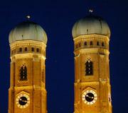 München - Zentrum Türme der Frauenkirche