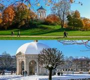 München - Hofgarten und Monopteros im Englischen Garten - zu jeder Jahreszeit einfach schön!