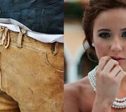 München - Traditionelle Lederhosen und elegant gekleidete Damen - Gegensätze ziehen sich an!