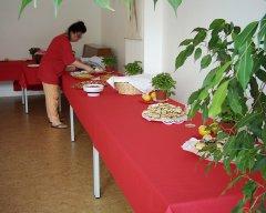 Movimento München Seminarraum 2 - Nutzung als Buffet-Raum
